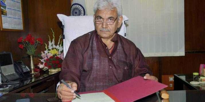 Union Minister Manoj Sinha