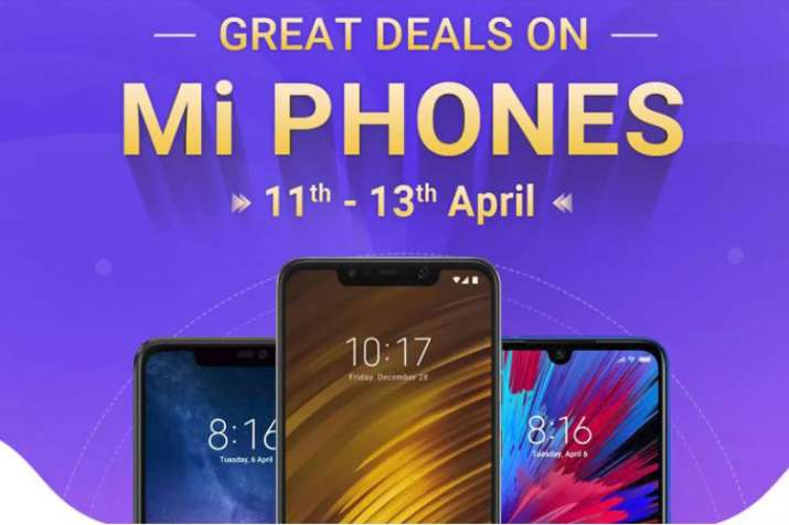Great deals on Mi phones from 11th to 13th April: Offers on Poco F1, Redmi Note 6 Pro, Redmi Note 5