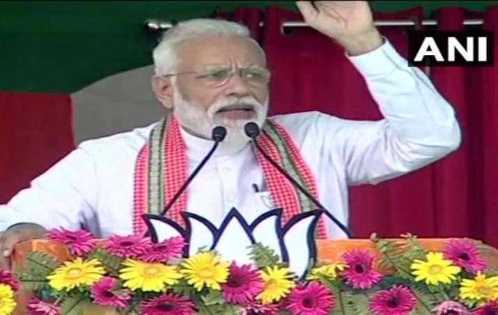PM Modi addressing rally in Bhagalpur