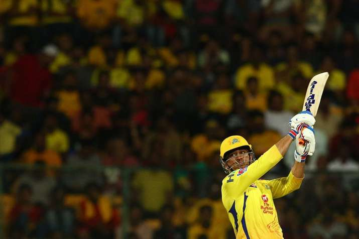 India Tv - MS Dhoni looked in fine form on Sunday and smashed sixes at will