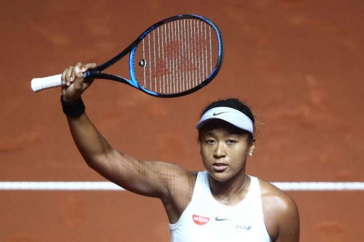 Naomi Osaka battles back to reach Porsche Grand Prix semifinals