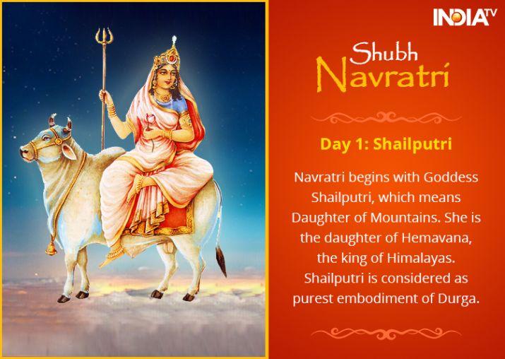 Happy Navratri 2019 Day 1: Goddess Shailputri | Significance, Puja Vidhi, Mantra, Aarti and Stotra