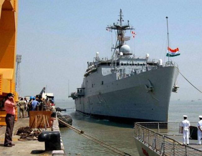 Indian Naval Vessel