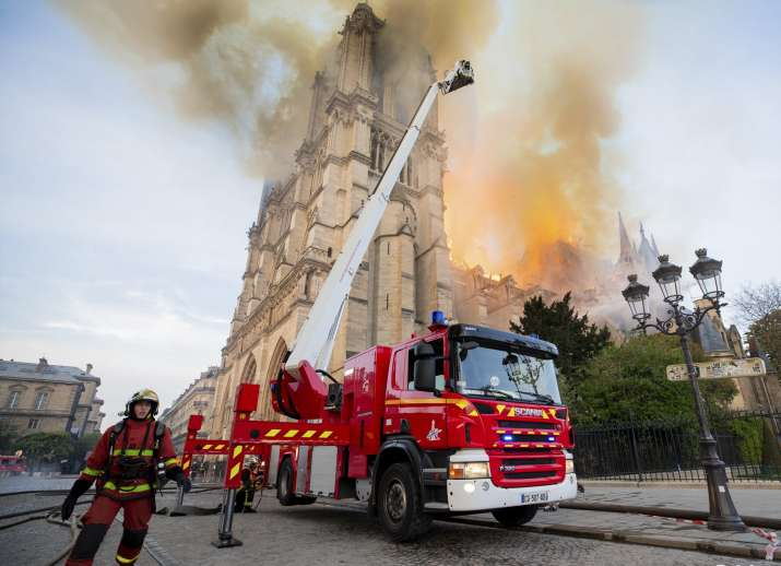 Notre Dame blaze doused: Organ, bell towers intact even as