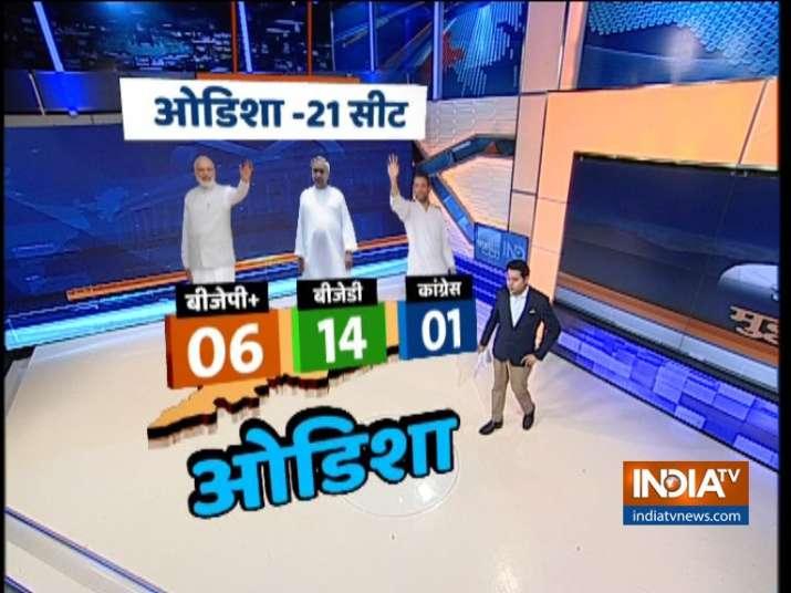 India Tv - India TV-CNX opinion poll's prediction for Odisha