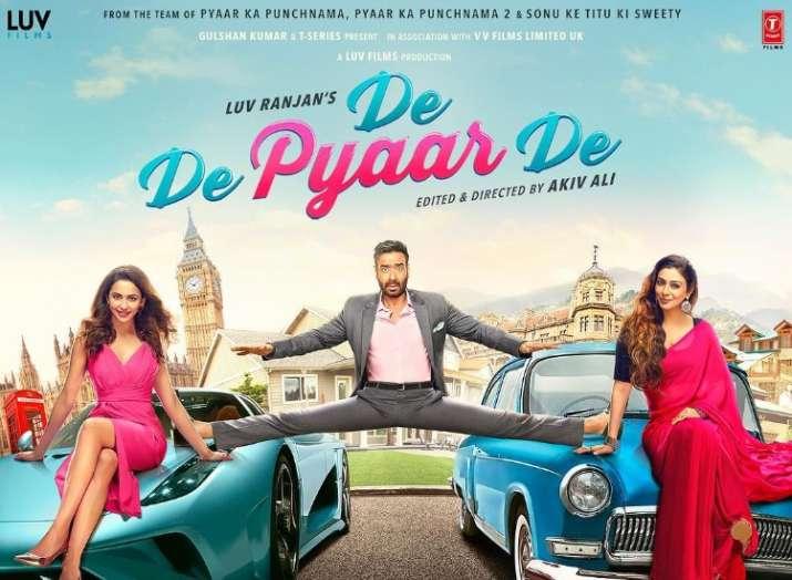 India Tv - De De Pyaar De Official Trailer Poster