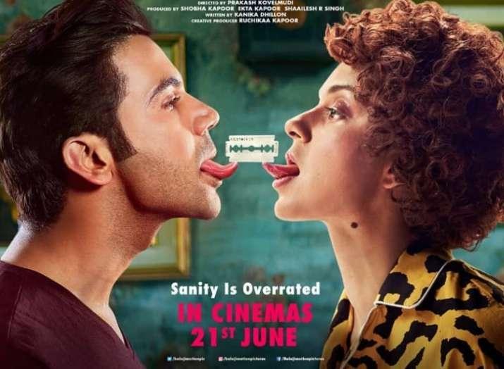 Kangana Ranaut, Rajkummar Rao starrer Mental Hai Kya to release on June 21