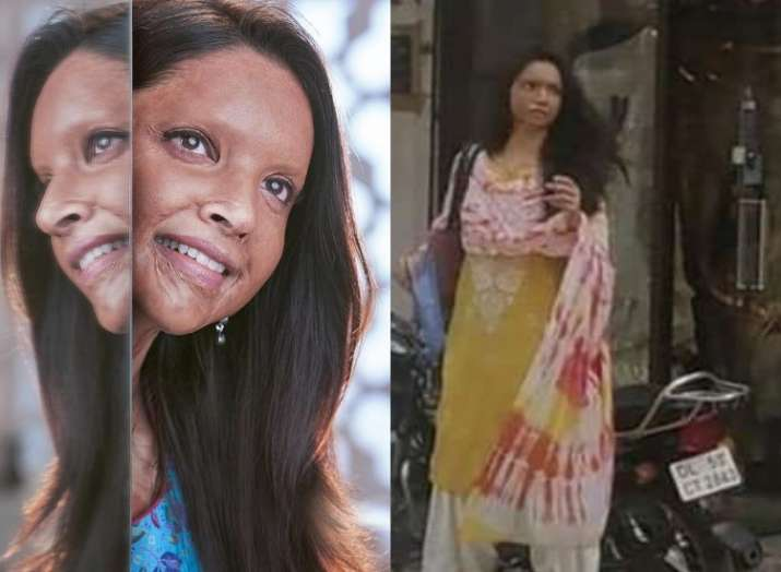 Deepika Padukone turns into a schoolgirl in this leaked video from Chhapaak sets