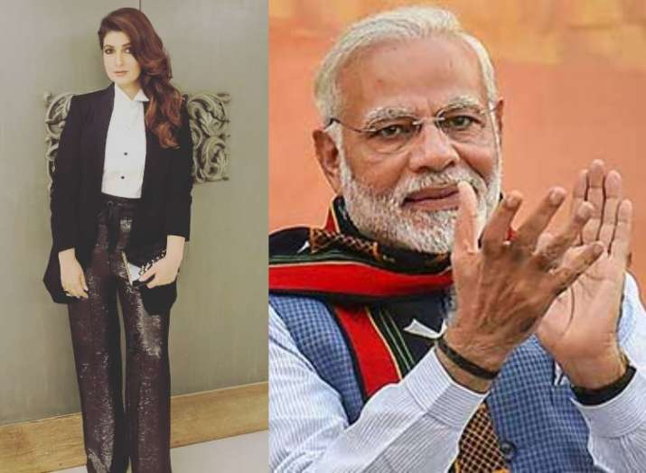 Twinkle Khannna tweets in response to PM Modi's remark on her