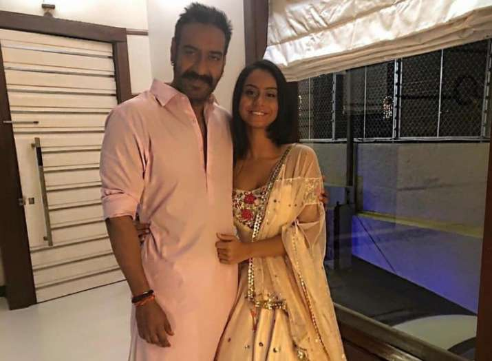 India Tv - Ajay Devgn with daughter Nysa.
