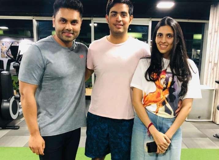 What made Shloka Mehta and Akash Ambani hit the gym?