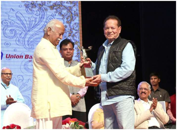 Salim Khan, Madhur Bhandarkar and Helen honoured with