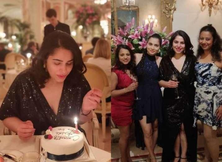 Priyanka Chopra's sister-in-law Ishita Kumar sizzles in black at her bridal shower