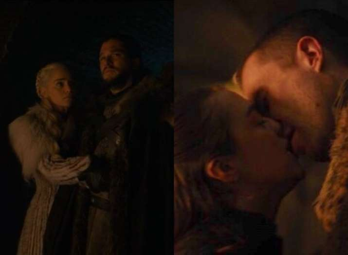 Jon Snow And Daenerys Scene From Latest Game Of Thrones Episode