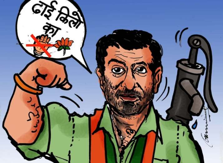 Twitterati explode with hilarious 'Dhai Kilo Ka Hath' memes and trolls as Sunny Deol joins BJP