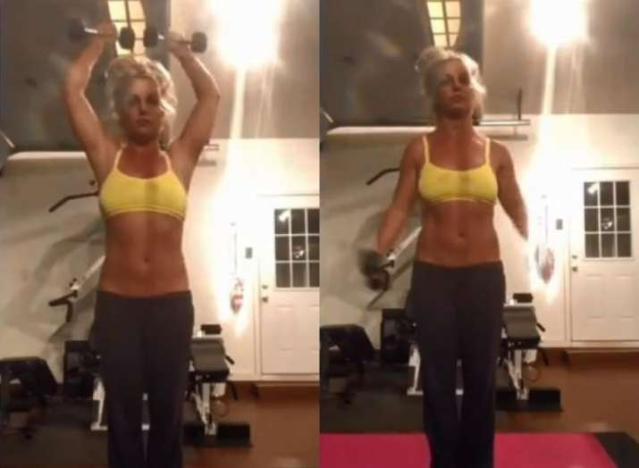 Britney Spears lost 5 pounds due to stress, shares workout video