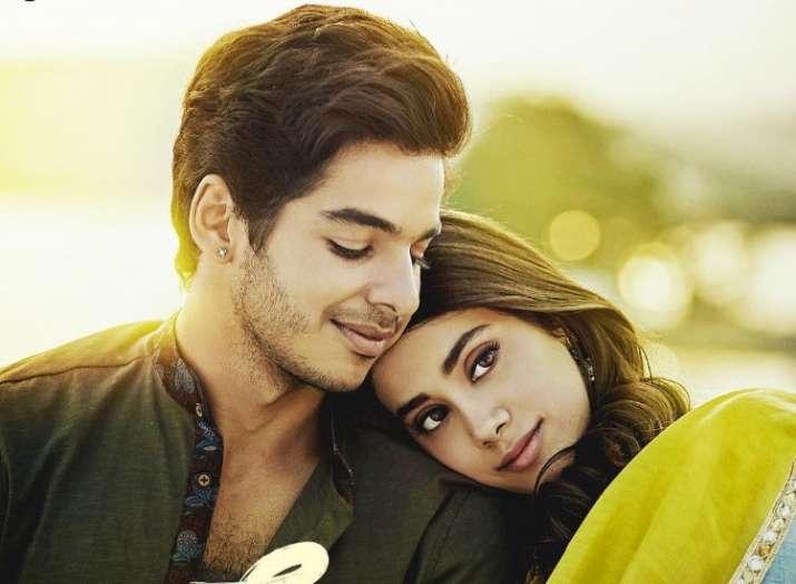 India Tv - Janhvi Kapoor was first seen in Dhadak alongside Ishaan Khattar.
