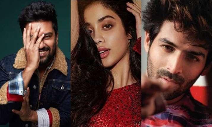 Janhvi Kapoor, Vicky Kaushal, Kartik Aaryan
