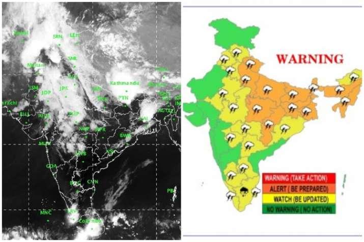 India Tv -  IMD predicts more rain, lightning for north, NE India
