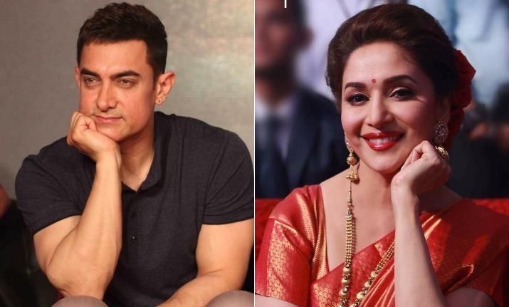 Aamir Khan thanks Madhuri Dixit for working in Toofan Aalaya