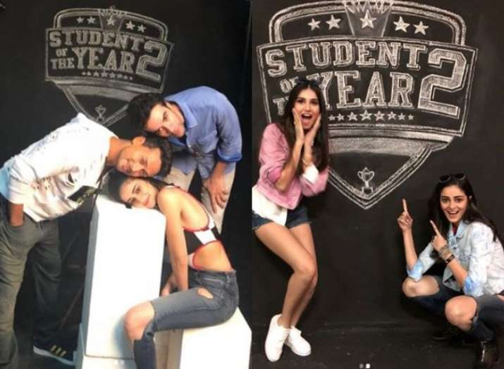 Ananya Panday gets nostalgic on completing one year of shoot for Student of the Year 2