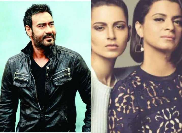 Kangana Ranaut's sister Rangoli lashes out on Ajay Devgn for working with Alok Nath in De De Pyaar D