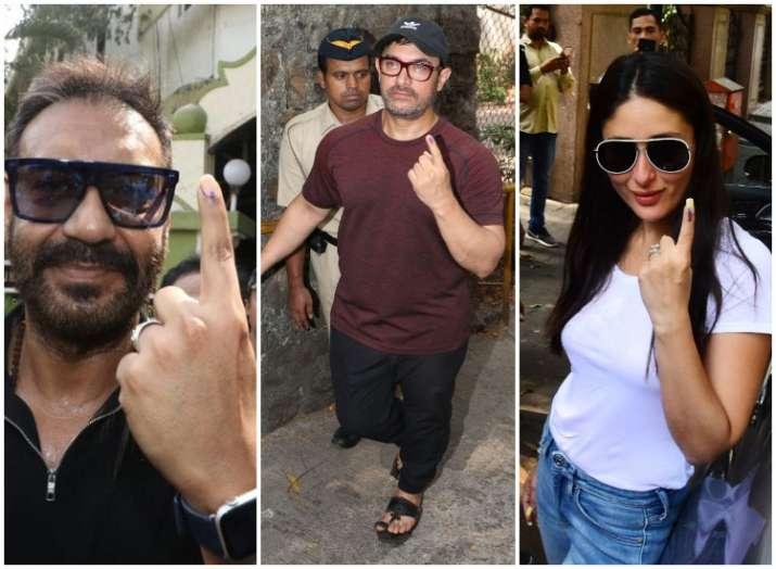 Bollywood stars vote with pride in Lok Sabha polls 2019,