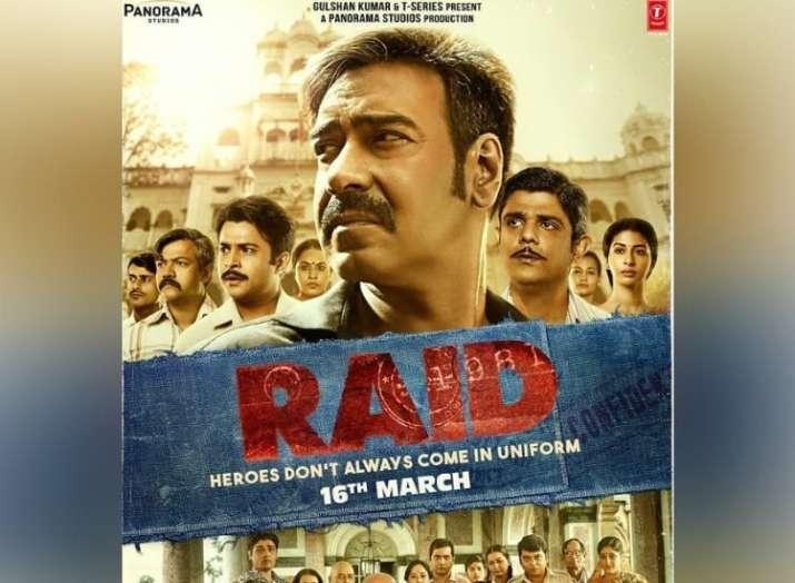 India Tv - Ajay Devgn's movie Raid