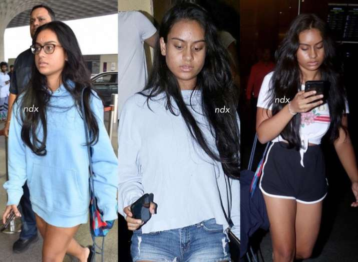 Nysa, Ajay Devgn and Kajol's daughter