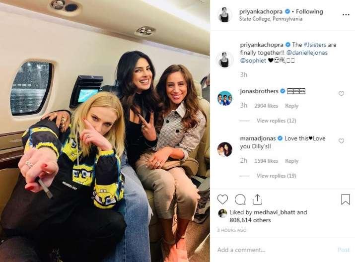 India Tv - Priyanka Chopra's Instagram post
