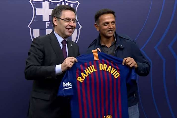 FC Barcelona, Rahul Dravid