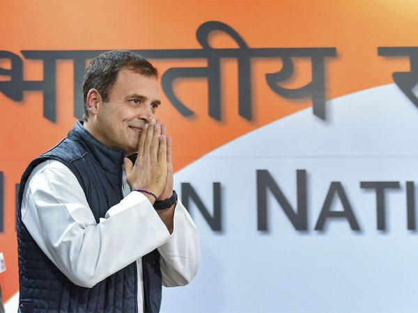 Rahul Gandhi added if Congress was elected to power, its