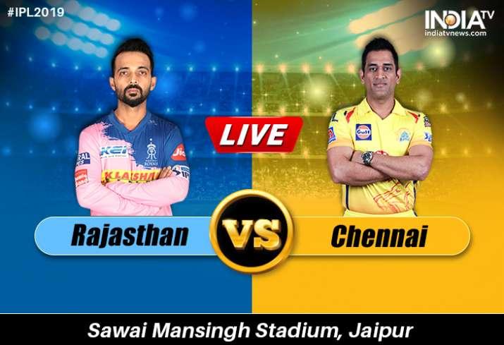 Live Streaming Cricket, IPL, Rajasthan Royals vs Chennai Super Kings: Live Match IPL RR vs CSK on Ho
