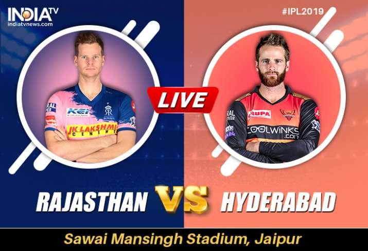 Live Streaming Cricket, RR vs SRH, IPL 2019: Watch Rajasthan Royals vs Sunrisers Hyderabad Online on