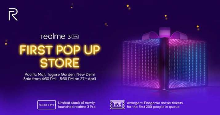 Realme first ever pop-up store to open on April 27 in New Delhi