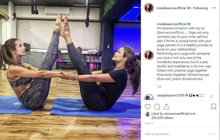 India Tv - Malaika Arora's Instagram post