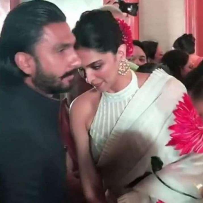 India Tv - Deepika and Ranveer