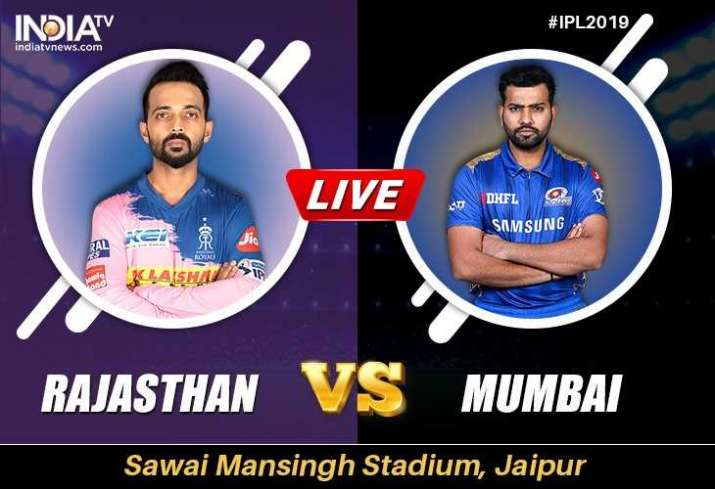 Live Streaming Cricket, RR vs MI: When and How to watch IPL 2019 Rajasthan Royals vs Mumbai Indians