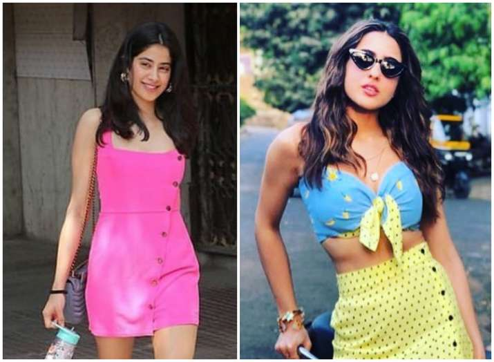 032d0da7967 Sara Ali Khan s chic Summer style OR Janhvi Kapoor s stunning fashion ball   Check in latest photos!