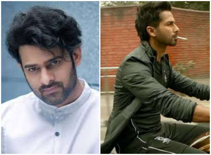 South Superstar Prabhas called Shahid Kapoor after watching