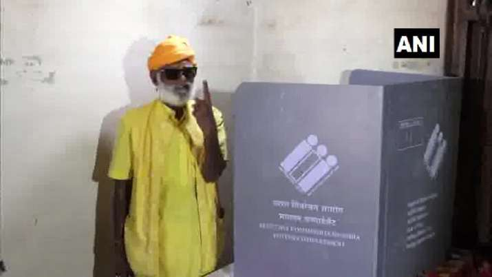 A polling booth in Gir Forest has been set up for 1 voter