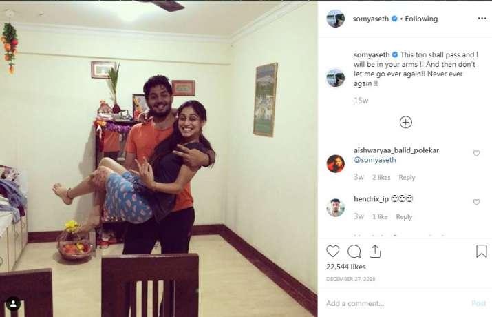 India Tv - Somya Seth's Instagram post