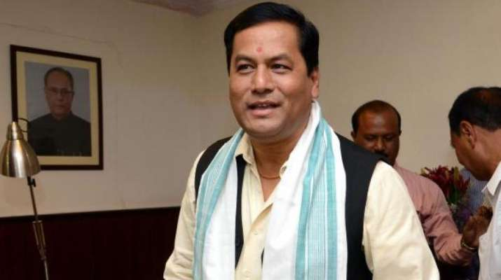 Sarbanand Sonowal, Chief Minister of Assam