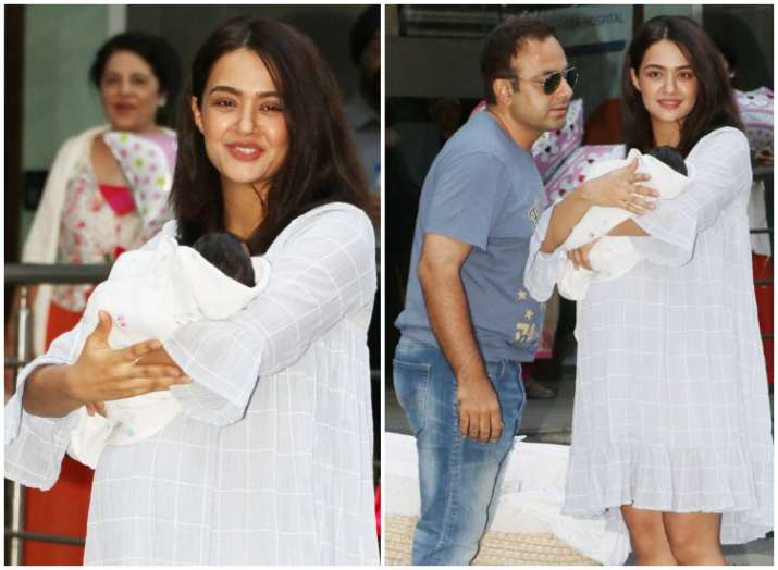 Surveen Chawla's baby girl Eva is adorable; See the LATEST