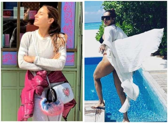 Sara Ali Khan wanders in NYC, Malaika roams in Maldives: