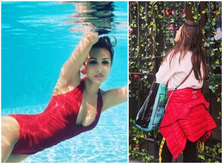 India Tv - Sara Ali Khan wanders in NYC, Malaika roams in Maldives: Which is your favourite travel destination?