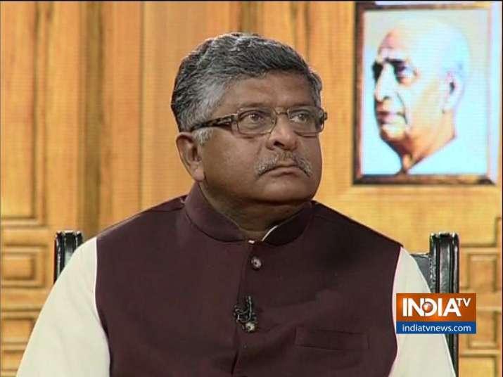 Ravi Shankar Prasad in Aap Ki Adalat: We will carry out
