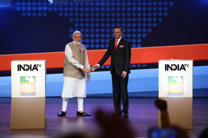 Prime Minister Narendra Modi gave a freewheeling exclusive