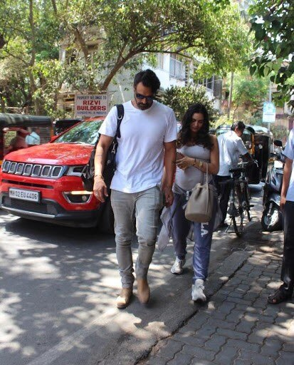India Tv - Arjun Rampal and girlfriend Gabriella