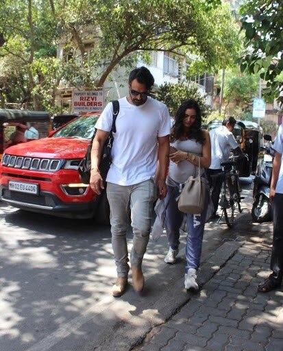India Tv - Arjun Rampal with gf